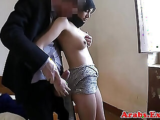 Stunning muslim babe gets drilled by big cock