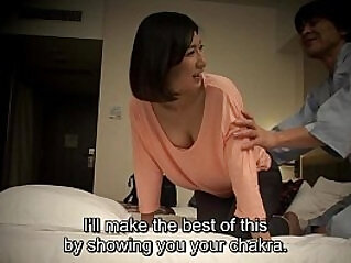 Subtitled cfnm Japanese hotel massage oral sex nanpa in HD