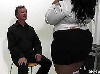 Ebony Girl vs Massive Black hard mamba Cock