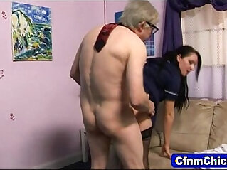 Young Son and his Mom Fucking for the First Time