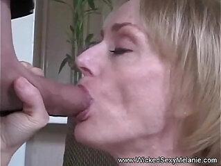 Gilf says i love sucking a big cock